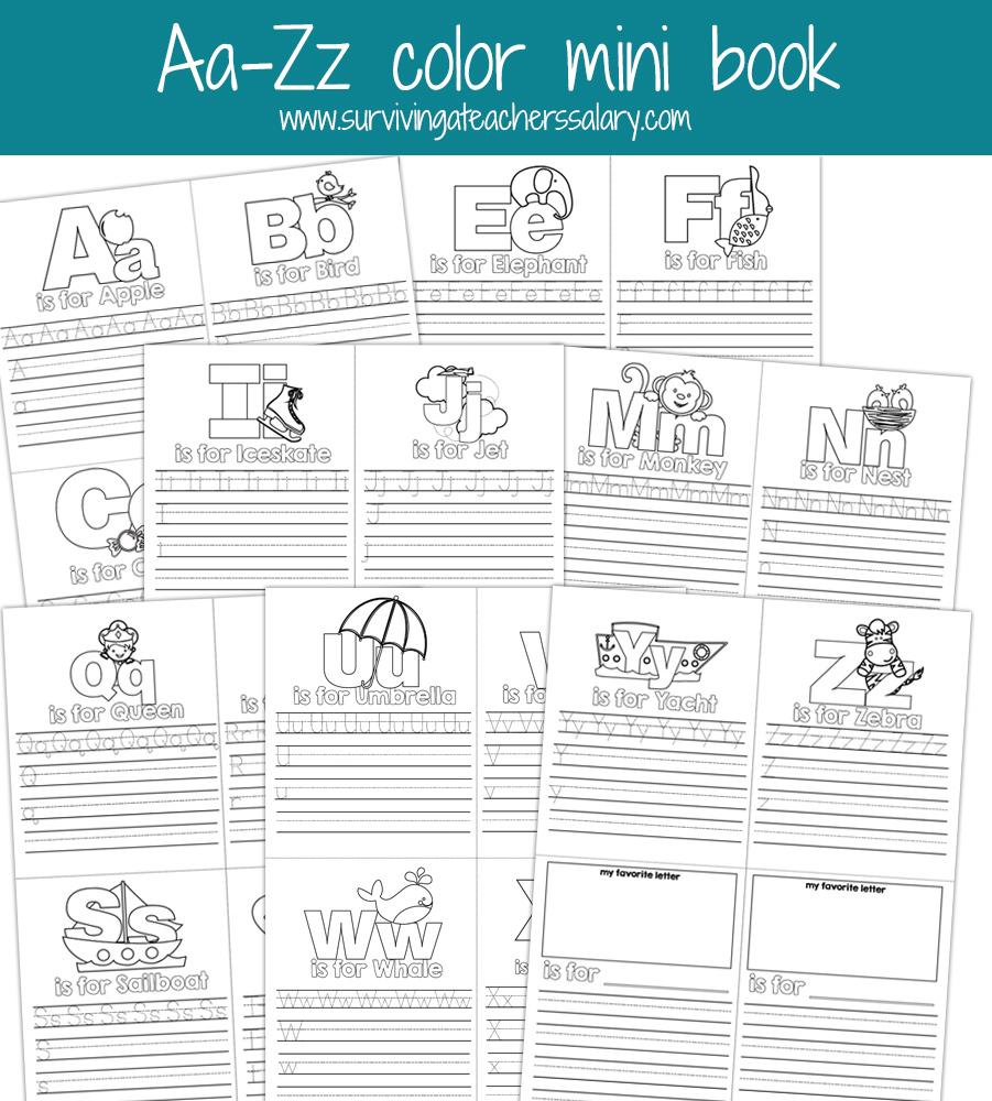 alphabet practice coloring pages photo - 1