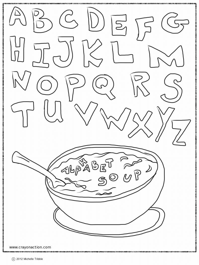 alphabet soup coloring pages photo - 1