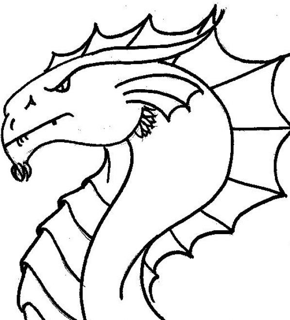 american dragon coloring pages photo - 1