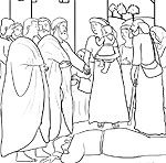 ananias and sapphira coloring pages photo - 1