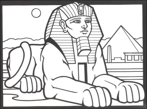 ancient egyptian printable coloring pages photo - 1