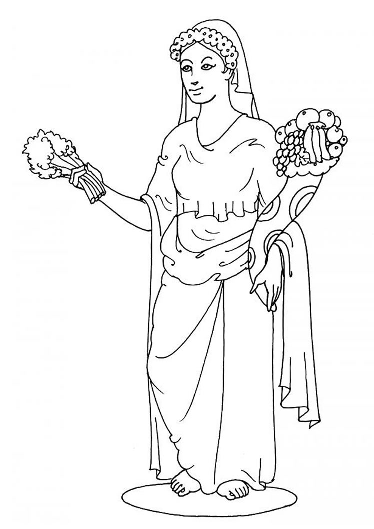 ancient greece printable coloring pages photo - 1