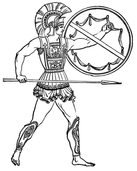 ancient greek pottery coloring pages photo - 1