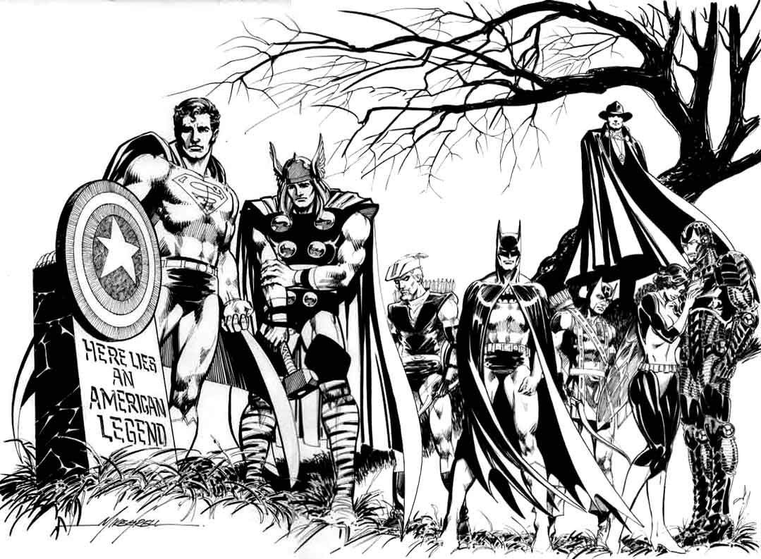 avengers coloring pages photo - 1
