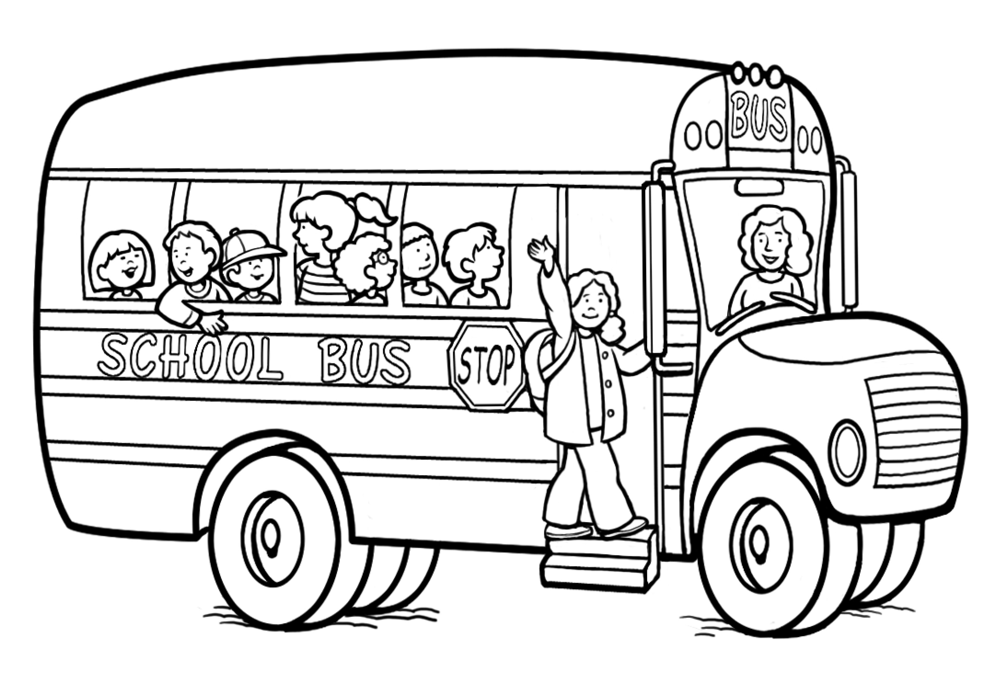 back to school coloring pages photo - 1