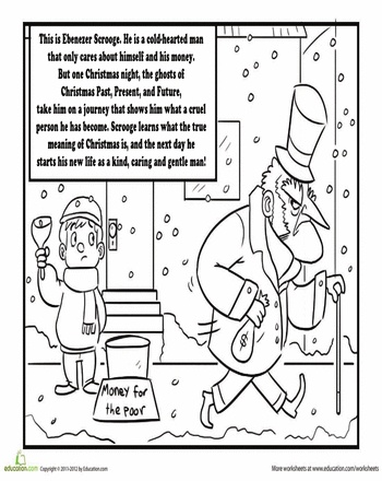 charles dickens coloring pages photo - 1