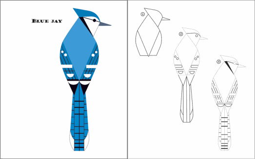 charley harper coloring pages photo - 1