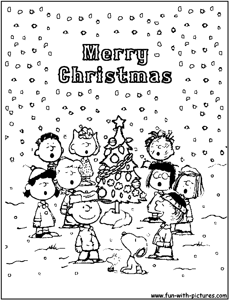 charlie brown free coloring pages photo - 1