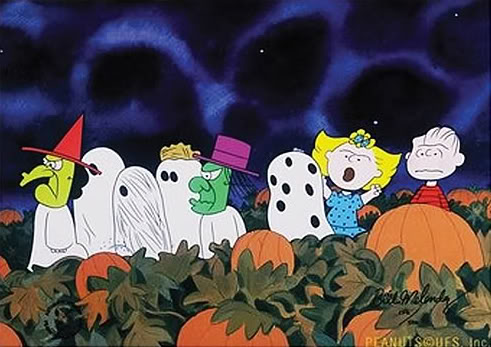 charlie brown great pumpkin coloring pages photo - 1