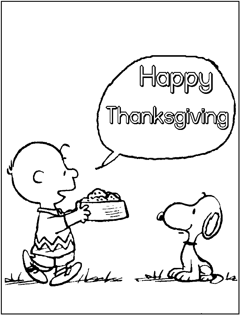 charlie brown halloween coloring pages photo - 1