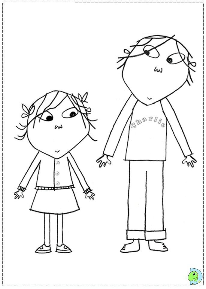 charlie coloring pages photo - 1