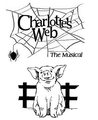charlotte web color pages photo - 1