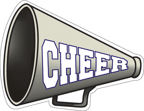 cheerleader coloring pages megaphones photo - 1