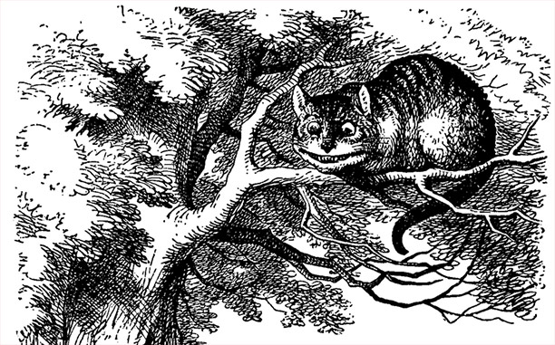cheshire cat coloring page photo - 1