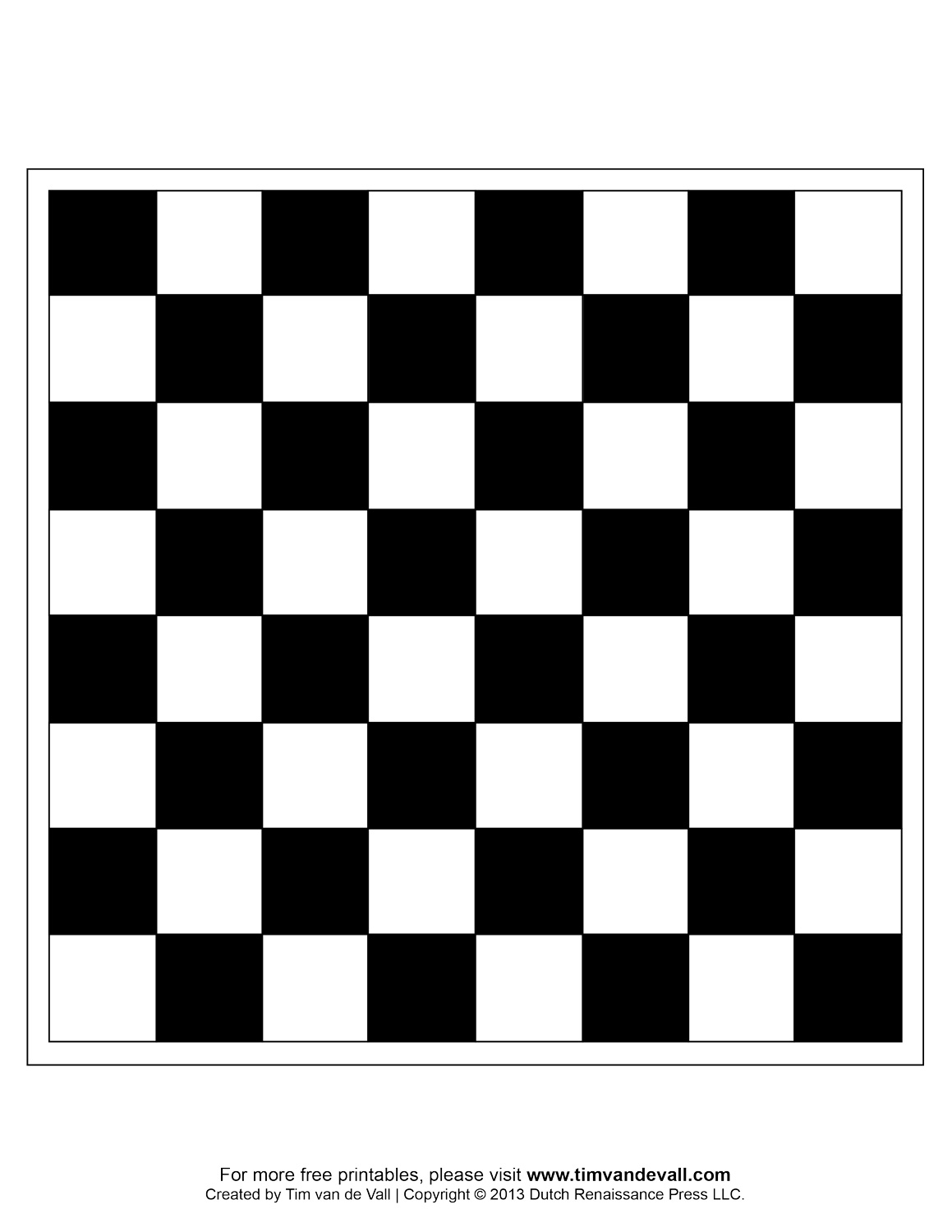 chessboard coloring pages photo - 1