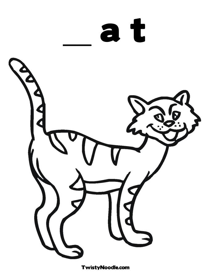 chester the cat coloring pages photo - 1
