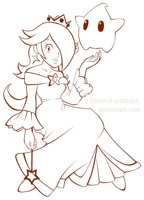 chibi princess coloring pages photo - 1