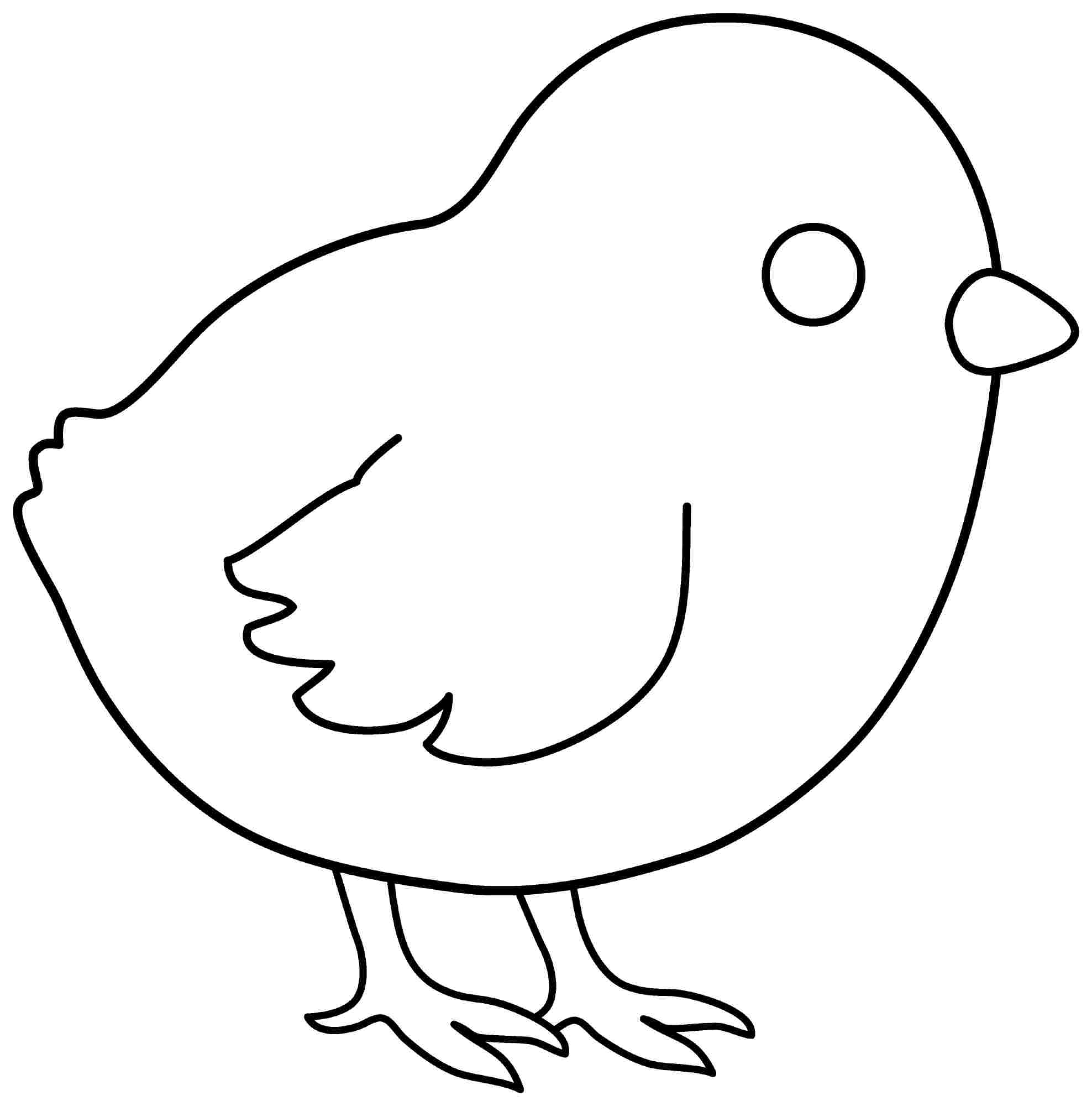 chicken little coloring pages photo - 1