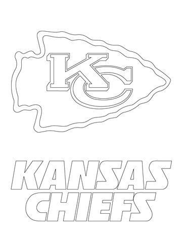 chiefs coloring pages photo - 1