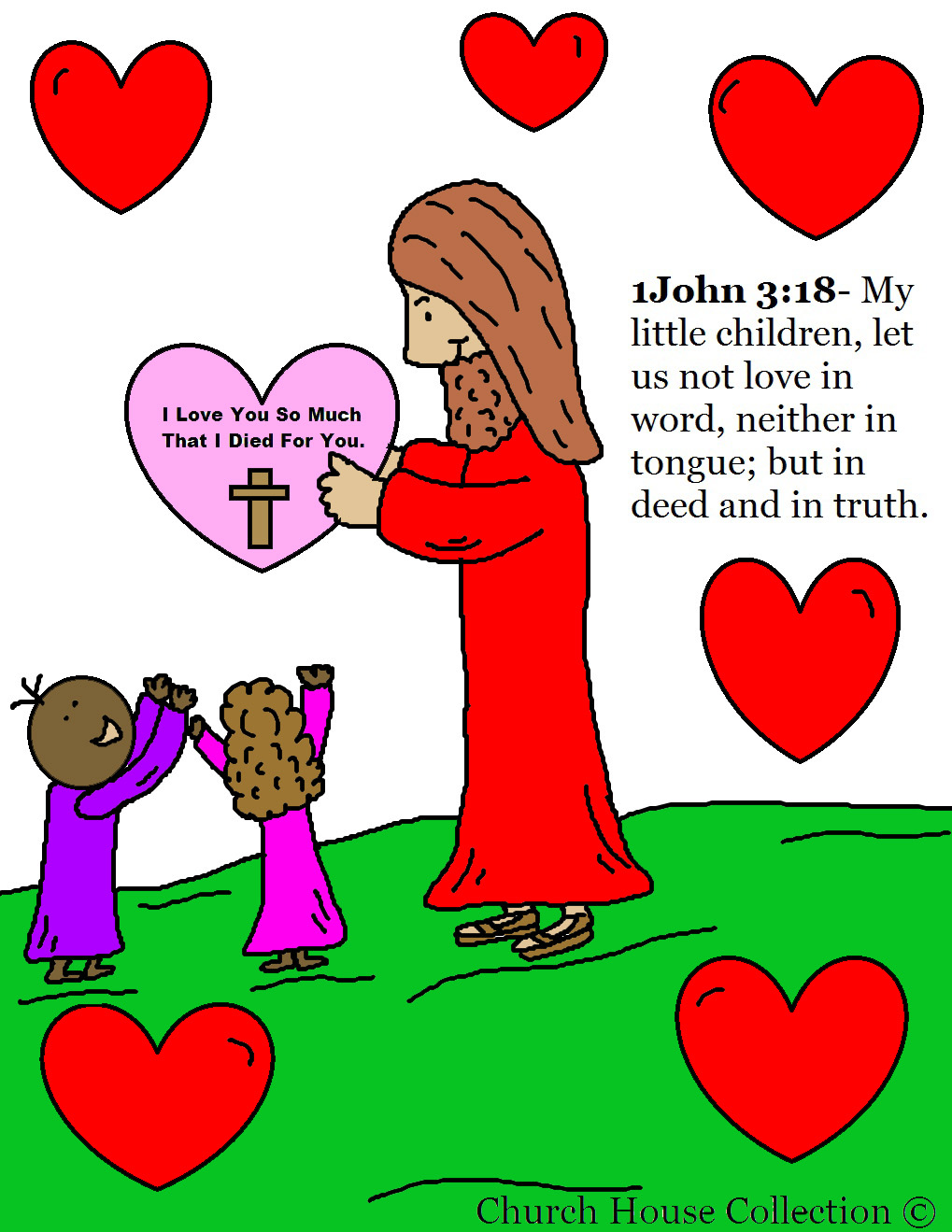 children s christian coloring pages print free photo - 1