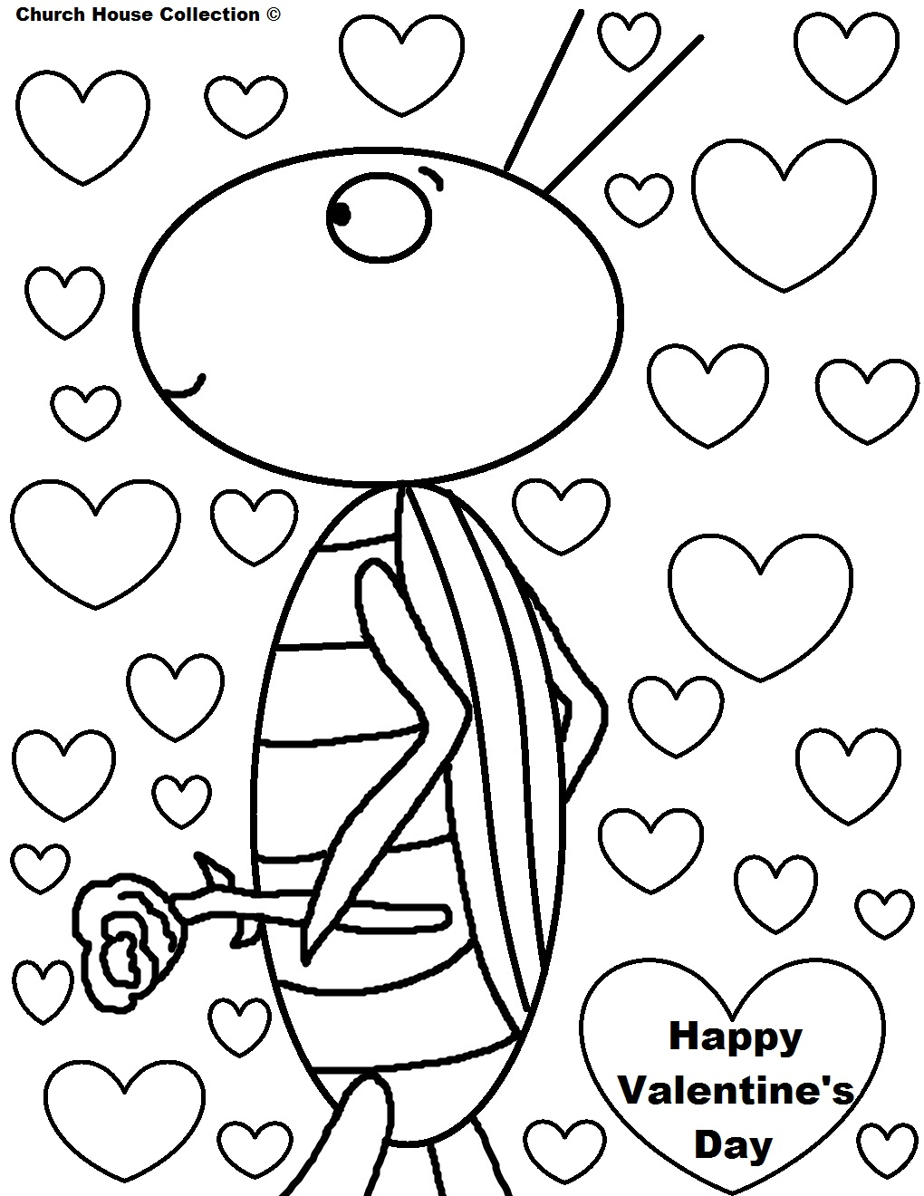 children s christian valentine coloring pages photo - 1