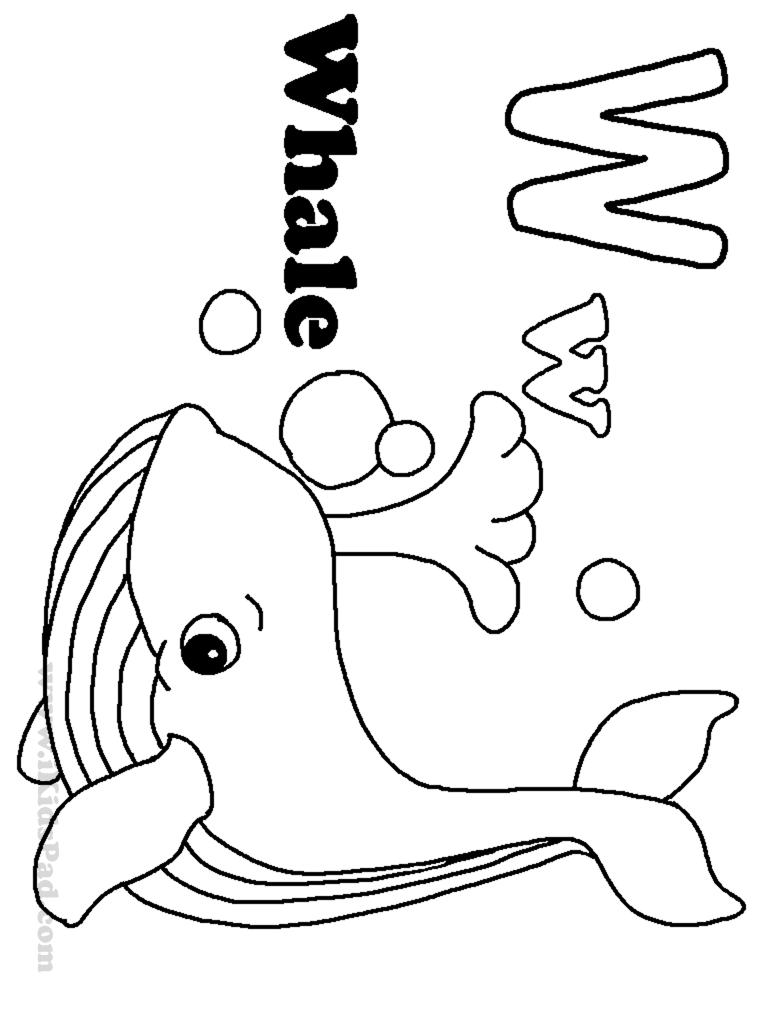 children s coloring pages alphabet photo - 1