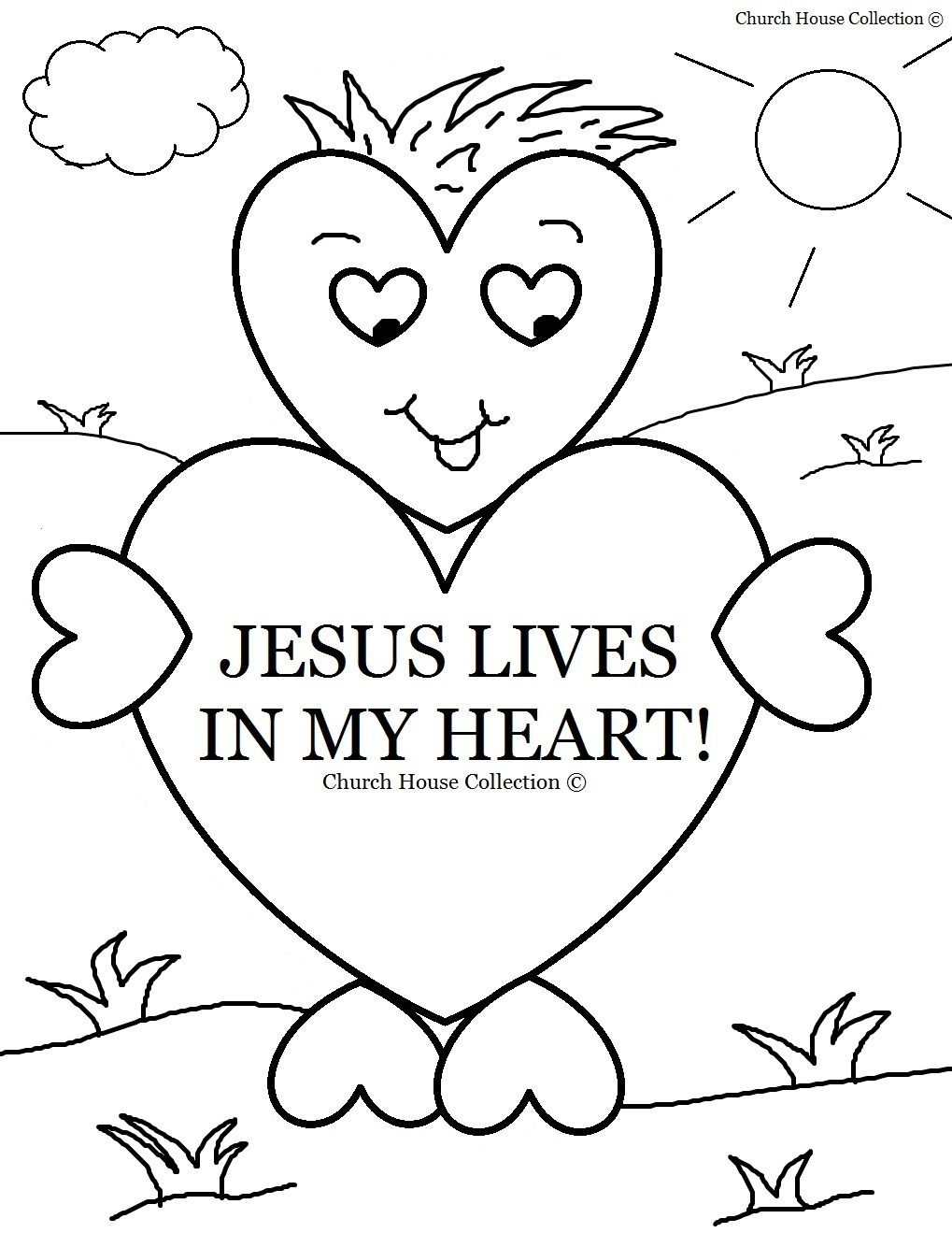 children s ministry coloring pages photo - 1