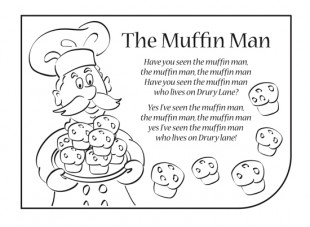 children s nursery rhymes coloring pages photo - 1