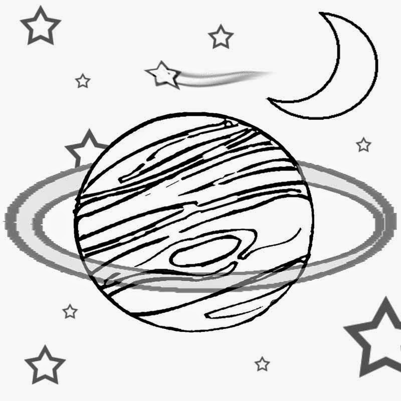children s outer space coloring pages photo - 1