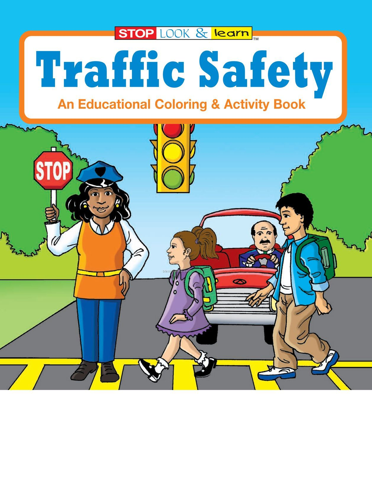 children s safety coloring pages photo - 1