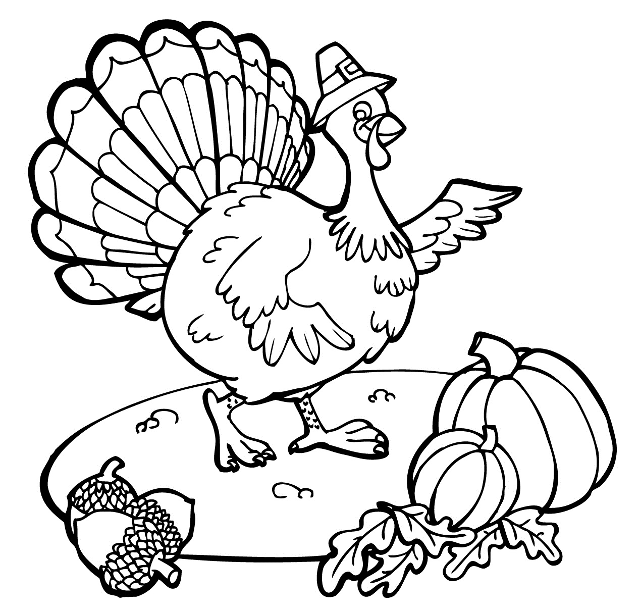 children s thanksgiving coloring pages photo - 1