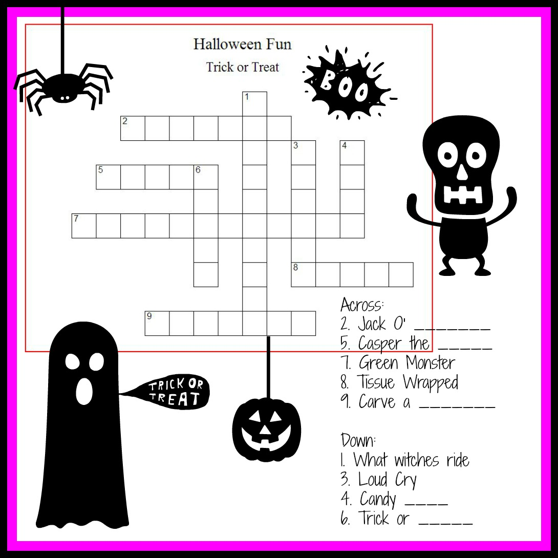 childrens halloween printable coloring pages photo - 1
