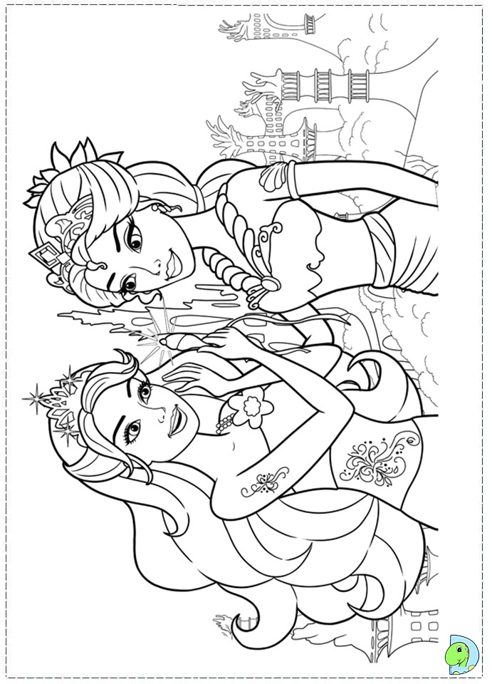 childrens princess coloring pages photo - 1