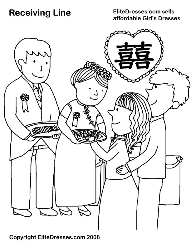 chinese woman coloring page photo - 1