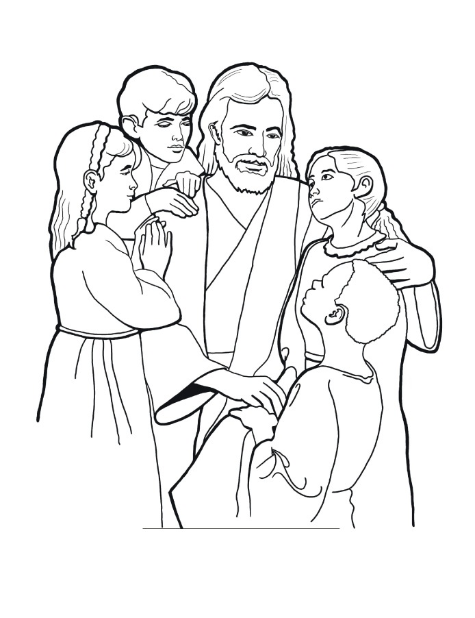 color pages for lds primary photo - 1