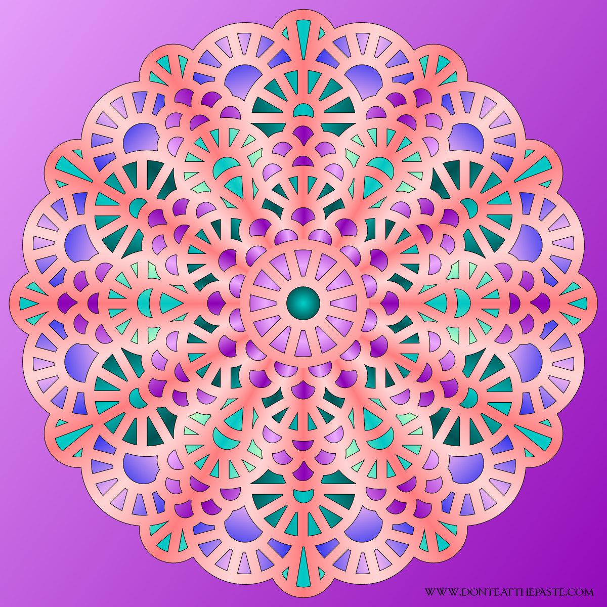 color pages patterns photo - 1