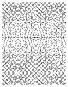 color pages shapes photo - 1
