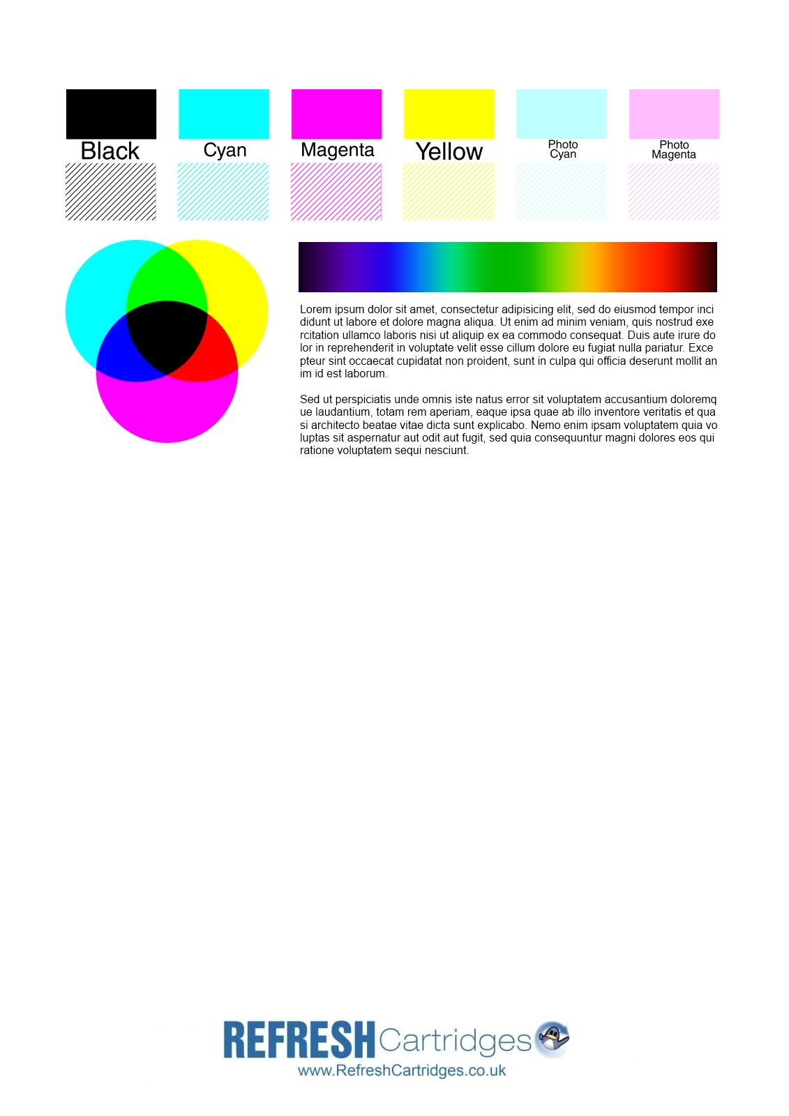 color printer test page download photo - 1