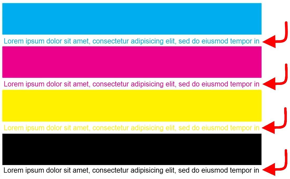 color printer test page laser photo - 1
