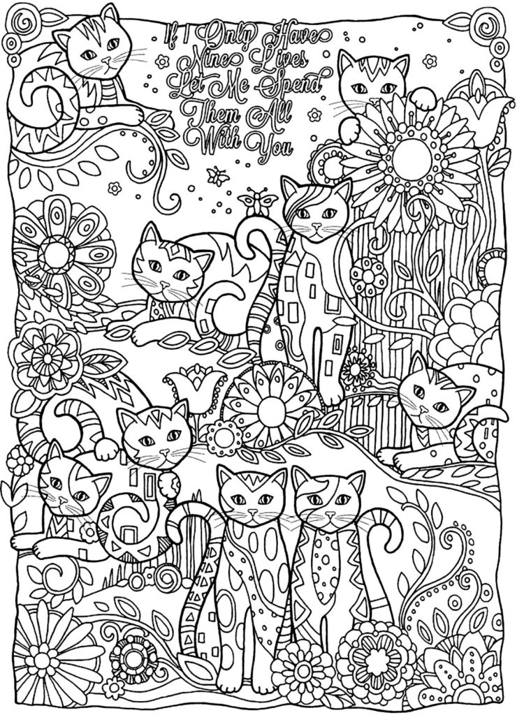coloring pages for happy birthday photo - 1