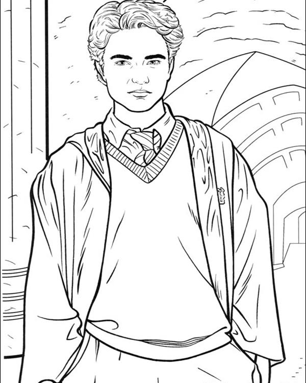 coloring pages for harry potter photo - 1