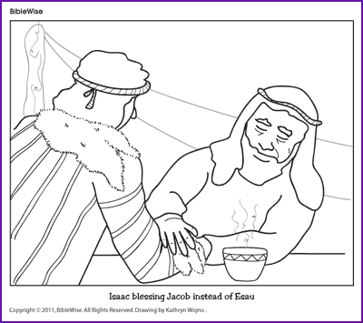 coloring pages for isaac and rebekah photo - 1