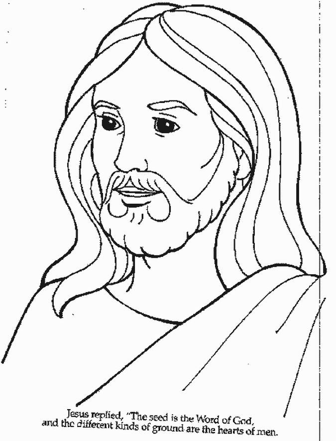 coloring pages for jesus birth photo - 1
