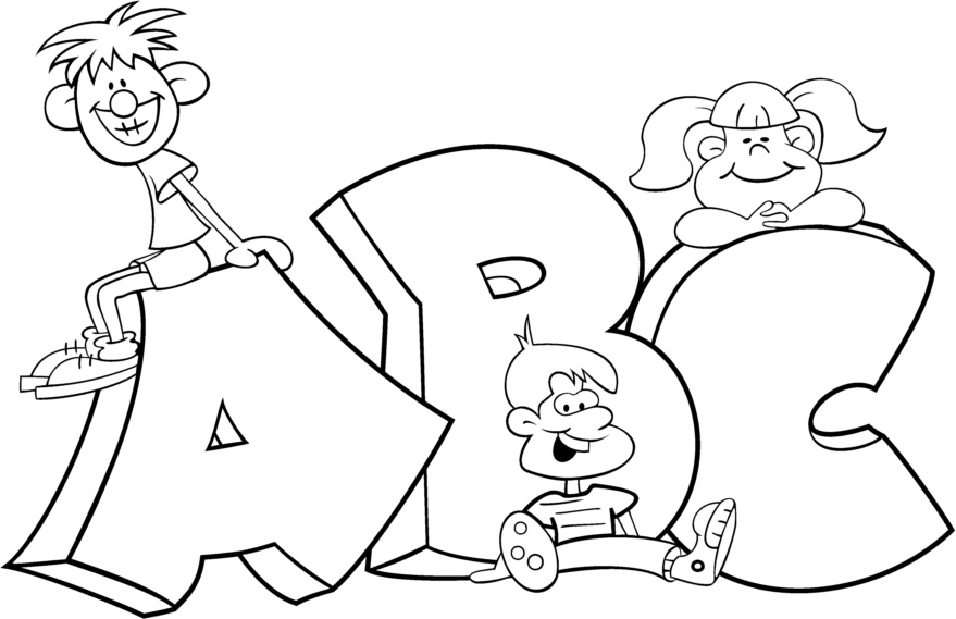 coloring pages for kindergarten first day photo - 1