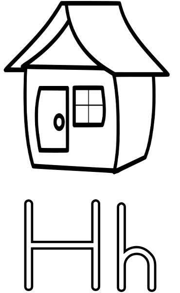 coloring pages for letter a for preschoolers photo - 1