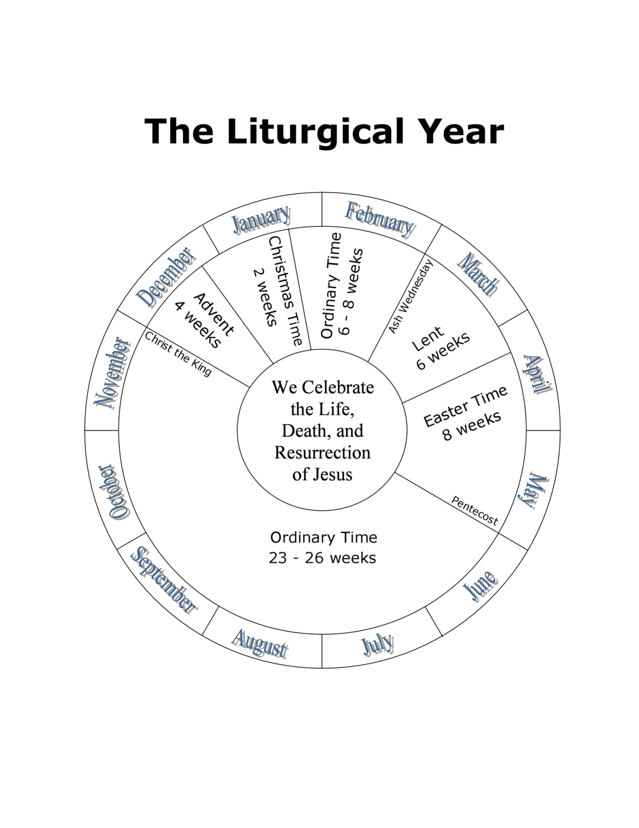 coloring pages for liturgical calendar photo - 1