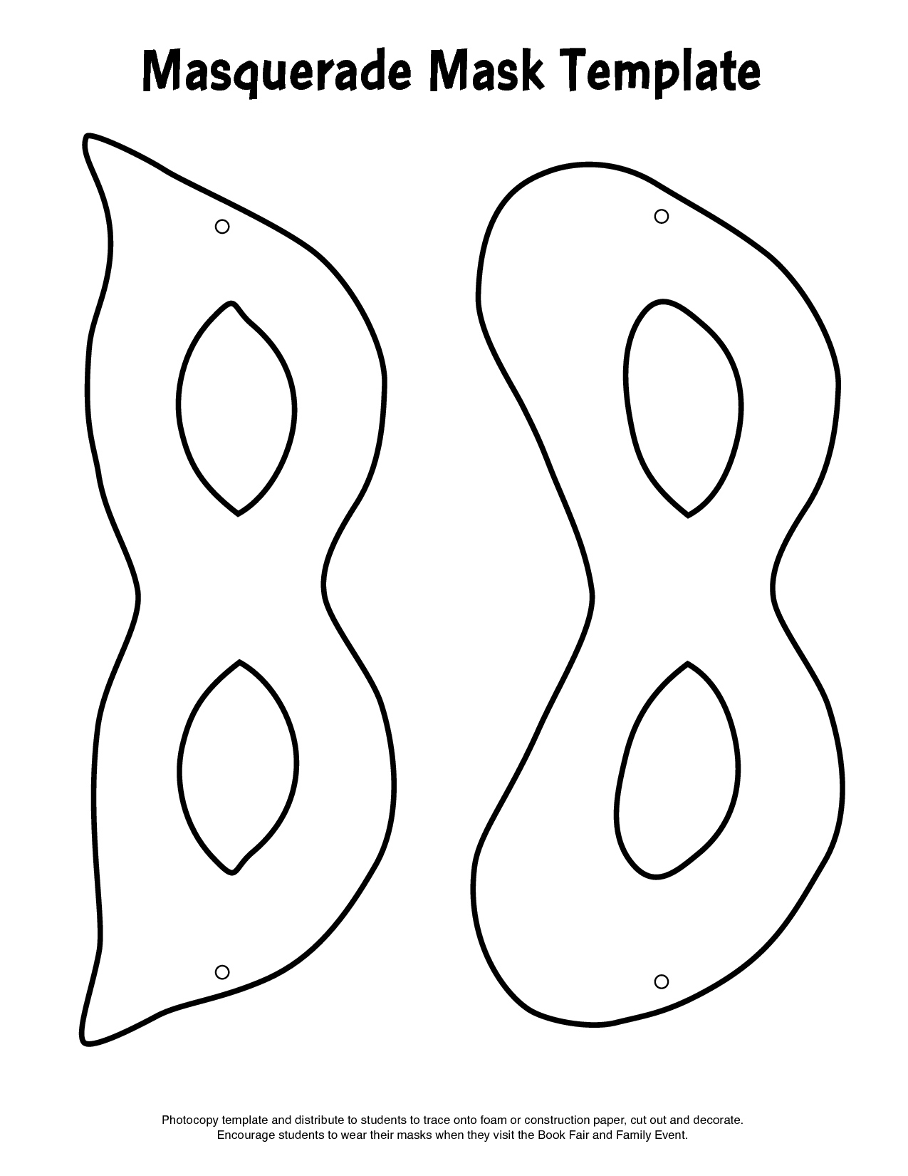 coloring pages for mardi gras mask photo - 1