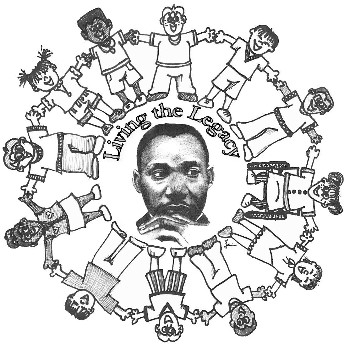 coloring pages for martin luther king jr photo - 1