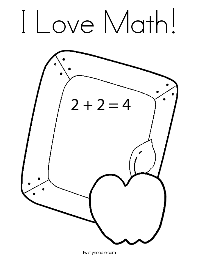 coloring pages for math problems photo - 1