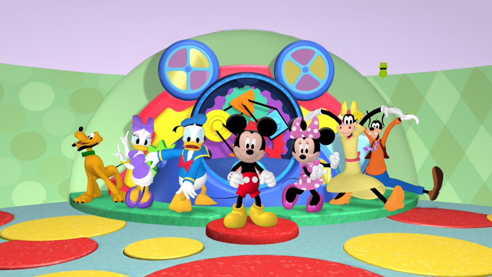 coloring pages for mickey mouse clubhouse photo - 1